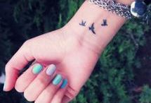 Small and pretty tattoos