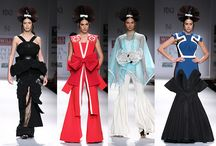 WIFW SS 2015 Day 1 / Japanese dolls, Red Indian motifs, miniature paintings and collections in soft shades of spring aimed for a sun-kissed start