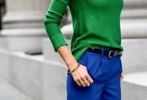 Combination wiht green