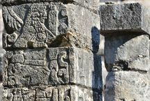 "CHICHEN ITZA, Yucatan: ""Red"" Maya city of Mexico"""