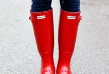 Hunter boots looks!
