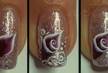 How to do nails arts.  / by Janny Hoekstra