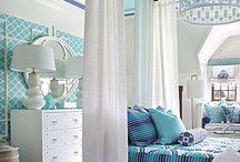 Ashton's blue bedroom