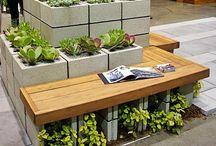 Mobiliário para jardins
