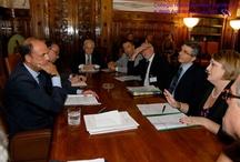I rappresentanti degli Ordini professionali incontrano il Ministro Alfano. / Riforma delle professioni. I rappresentanti dei principali Ordini professionali hanno incontrato il Ministro Alfano per presentargli il documento unitario.  Roma, 21 Luglio 2010