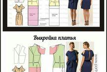 vestidos con molderia