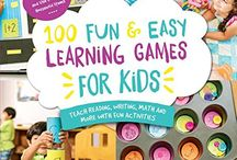 100 Fun and Easy Learning Games for Kids / Discover game ideas for kids that are easy to make and budget friendly.  Inspired by our upcoming book 100 Fun and Easy Learning Games for Kids.  A book filled with reading, writing, math, science, social studies, art and music and FUN for kids.  Created for parents, grandparents and teachers for the little things we do at home to learn in everyday moments.  #100LearningGames  / by The Educators' Spin On It