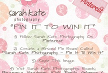 Sarah Kate Photography - Pin It To Win It / by Jo Johnson