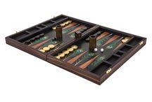 Peacock Backgammon Board