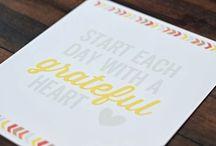 Imprimibles para el día de acción de gracias #Thanksgiving / by Danielly Lara {Un dulce hogar}