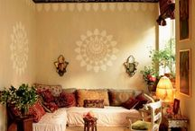 studio inspirations / color tones and styles to consider for my mythical future  henna art studio. / by Kristy HennaTrails