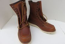 Red Wing Boots Size 102E