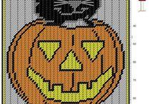 Halloween Plastic canvas