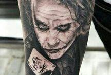 joker tatuaggio