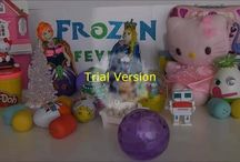 Frozen Fever Play dog / Frozen fever , playdoh , frozen , play doh ,