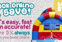 Bouncy Party Rentals / We at Bouncy Rentals LLC deliver party supplies and rentals for all type of events and parties in Baltimore, Maryland and surrounding areas. Get unforgettable fun and joy to your party with us.