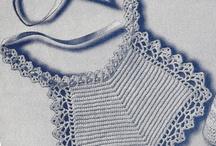 Crochet baby Bibs...