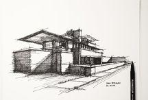 Скетчинг Архитектура