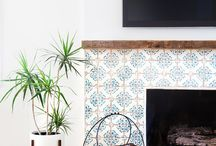Fireplace-Tiled