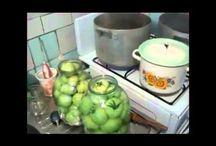 консервация огурцов и помидор