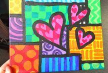 Arty valentines