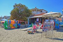 Beach Kiosks in Zante / Beach Kiosks in Zakynthos
