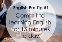 Tips on How to Learn English / Here you'll find useful hints and tips on how to master the English language quickly, easily and effectively.