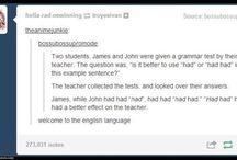 Language shit