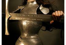 warrior armour woman