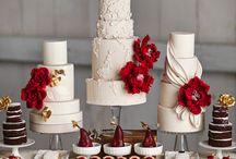 marsala, bordo wedding