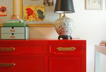 In Celebration of Red! / Red is the color of strength, joy, purpose.  Every room needs a pinch.