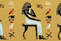 egyptische muurschilderingen