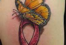 breastcancer tattoos