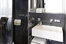 Bathroom interior design / Get inspired by VISIONAPARTMENTS stylish bathrooms.