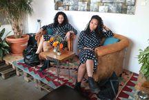 Polka dots & Stripes || Twinmindshoot / The joy of dressing is an art - John Galliano