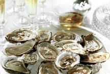 Fine foods & Drinks / Each bite has to be savored....except my personal favorite...oysters... Drinks must always be divine...