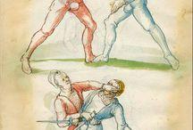 Искусство боя одноручным мечом / Наглядное пособие. 015-Fechtbuch-1520-Staatsbibliothek zu Berlin
