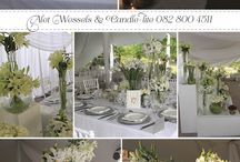 Wedding Coordinators/Planners / Some of us need the real professionals to assist us with the design, planning and management of our dream day! Here are some of our fabulous South African talent and the beautiful weddings that they helped plan and created!