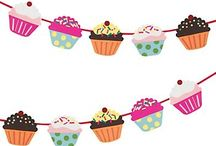 Bunting, flags, decorations and party decor