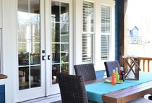 Outdoor Living / Whether it's a trend or not, who doesn't enjoy outdoor living in the Comox Valley?!