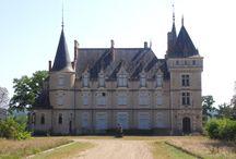 Marcenat. Chateau du Lonzat