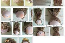 Bez Bebek yapımı