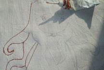рисование по ткани