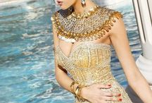 Roman, Greek, Egypt style women