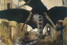 Böcklin, Arnold (1827-1901, Swiss painter)