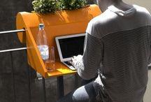 office ideas / by Chehala Sixkiller-Richardson