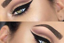 Eyeliner styles / Look attractive eyes