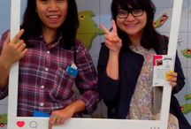 Indonesia International Book Fair 2015 / I love reading books :))