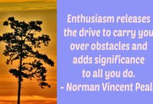 Enthusiasm Quotes / Quotes encouraging enthusiasm, inspiration and passion