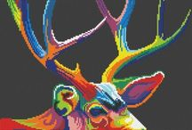 Cross stitch color